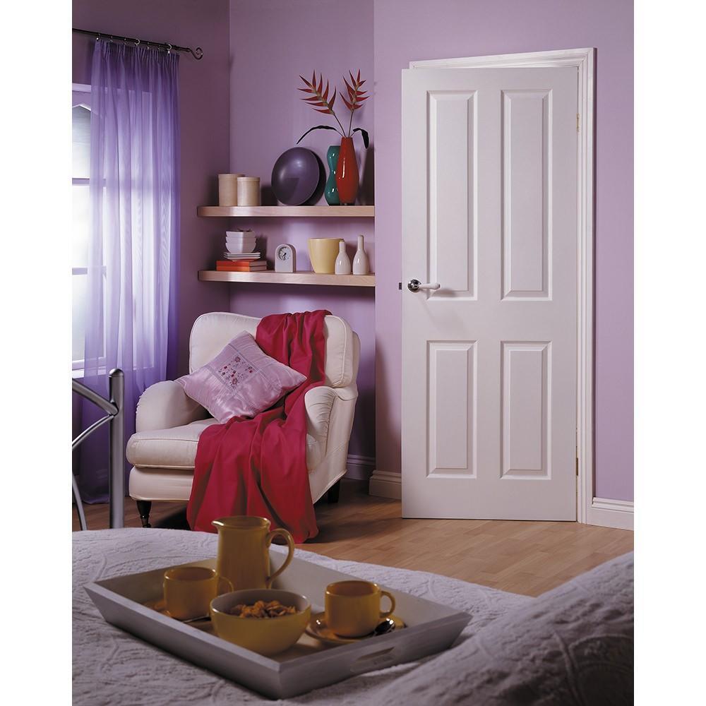 Camsız Beyaz Panel Ahşap Kapı Modeli ve Fiyatı