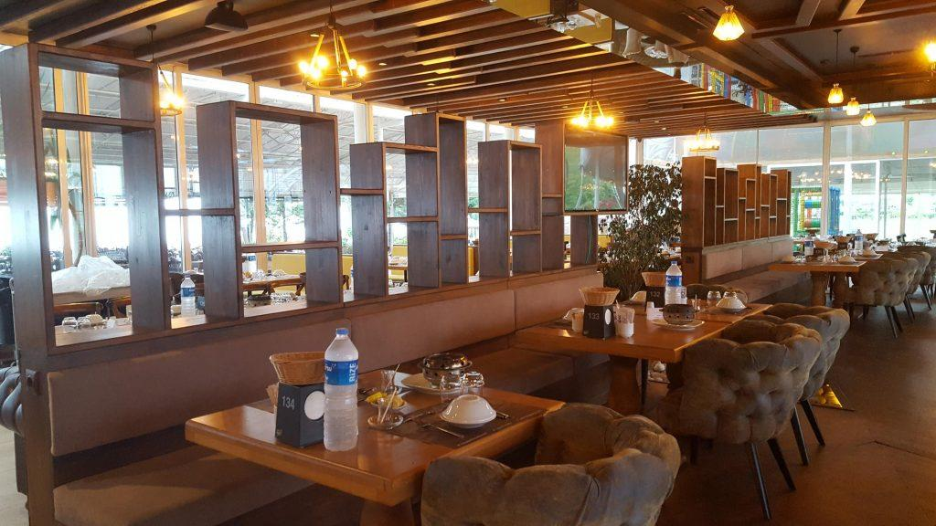 Rize Yakamoz Fish and Meat Wooden Restaurant Design